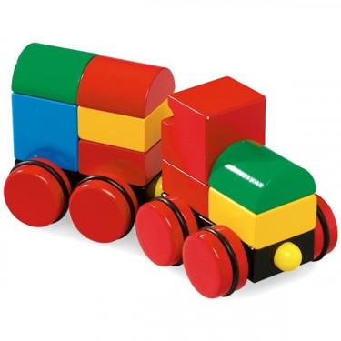 Train empilable magnétique, BRIO 30124