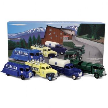 coffret 4 véhicules (Ford x2 - Studebaker x2) CIJ