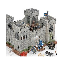 chateau fort en bois papo et ch teau arty toys djeco jouets et merveilles. Black Bedroom Furniture Sets. Home Design Ideas