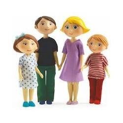 Personnages Maisons de poupées
