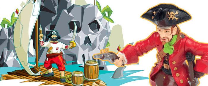 figurines pirates PAPO